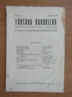 Revista Fantana Darurilor, anul VI, nr. 7, septembrie 1934
