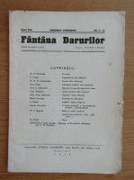 Revista Fantana Darurilor, anul XIV, nr.1-2, ianuarie-februarie, 1945