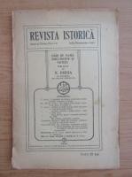 Revista istorica, anul XI, nr. 7-9, iulie-septembrie 1925