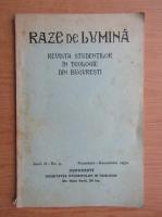 Revista Razele de lumina, anul II, nr. 5, 1930