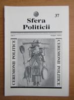 Anticariat: Revista Sfera Politicii, anul V, nr. 37, 1996