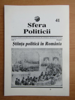 Anticariat: Revista Sfera Politicii, anul V, nr. 41, 1996