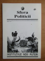 Anticariat: Revista Sfera Politicii, anul V, nr. 49, 1997