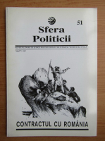 Anticariat: Revista Sfera Politicii, anul V, nr. 51, 1997