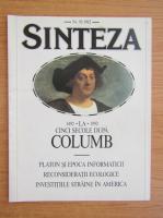 Anticariat: Revista Sinteza, nr. 92, 1992