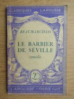 Anticariat: Beaumarchais - Le barbier de Seville (1948)