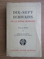 Anticariat: Dix-sept ecrivains (1939)