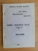 Gleb Dragan - Tehnica tensiunilor inalte (partea II-a, volumul 2)