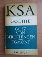Goethe - Gotz von Berlichingen Egmont