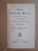 Anticariat: Goethe - Samtliche Werke (volumul 34, 1931)