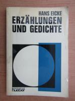 Anticariat: Hans Eicke - Erzahlungen und Gedichte