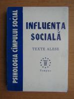 Anticariat: Influenta sociala