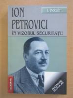 Ionel Necula - Ion Petrovici