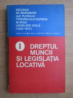 Anticariat: Marin Popa - Dreptul muncii si legislatia locativa