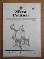 Anticariat: Revista Sfera Politicii, anul V, nr. 44, 1997