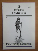 Anticariat: Revista Sfera Politicii, anul V, nr. 45, 1997