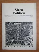 Revista Sfera Politicii, anul VI, nr. 57, 1998