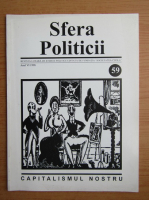 Anticariat: Revista Sfera Politicii, anul VI, nr. 59, 1998