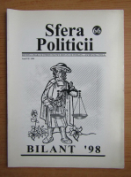 Anticariat: Revista Sfera Politicii, anul VI, nr. 66, 1999