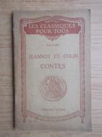 Anticariat: Voltaire - Jeannot et Colin contes (1929)