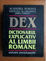 DEX. Dictionarul Explicativ al Limbii Romane (1998)