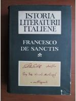 Anticariat: Francesco de Sanctis - Istoria literaturii italiene