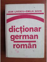 Anticariat: Jean Livescu, Emilia Savin - Dictionar German-Roman