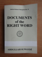 Abdullah Suwaydi - Documents of the wight word