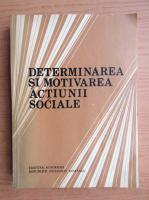 Cornel Popa - Determinarea si motivarea actiunii sociale