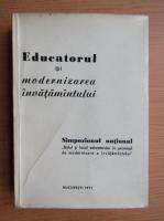 Anticariat: Educatorul si modernizarea invatamantului