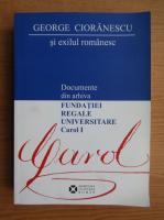 George Cioranescu si exilul romanesc