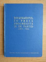 Anticariat: Invatamantul in presa progresista si de partid, 1872-1944