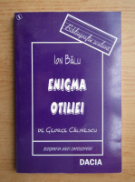 Ion Balu - Enigma Otiliei