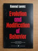 Konrad Lorenz - Evolution and modification of behaivor