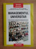 Liviu Antonesei - Managementul universitar