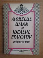 Anticariat: Modelul uman si idealul educativ