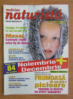Anticariat: Revista Medicina naturista, nr. 11 (52), decembrie 2002