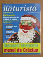 Anticariat: Revista Medicina naturista, nr. 12 (41), decembrie 2001