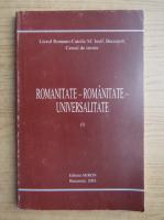 Anticariat: Romanitate-romanitate-universalitate (volumul 1)