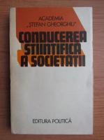Anticariat: Sergiu Tamas - Conducerea stiintifica a societatii
