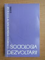 Anticariat: Sociologia dezvoltarii (volumul 4)