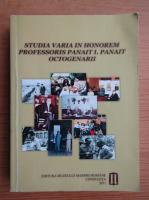 Anticariat: Studia varia in honorem professoris Panait I. Panait octogenarii
