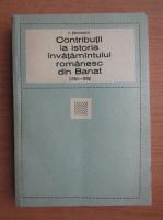 Victor Tircovnicu - Contributii la istoria invatamantului romanesc din Banat