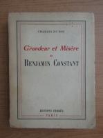 Charles du Bos - Grandeur et misere (1946)