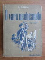Anticariat: Constantin Fedin - O vara neobisnuita