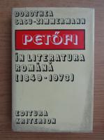 Anticariat: Dorothea Sasu Zimmermann - Petofi in literatura romana