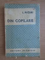 Anticariat: Ion Popescu Puturi - Din copilarie (1945)