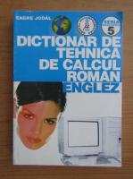 Anticariat: Jodal Endre - Dictionar de tehnica de calcul roman-englez