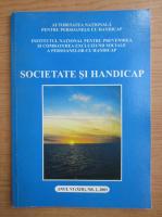 Anticariat: Revista Societate si handicap, anul VI, nr. 1, 2003
