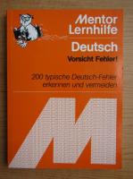 Deutsch Vorischt Fehler
